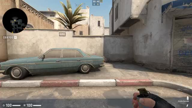 Watch and share Dust 2 CT - A Long Door Smoke GIFs by icesicles on Gfycat