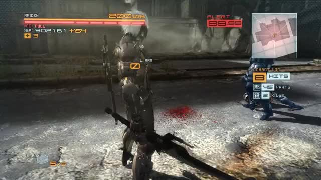 Watch and share Metal Gear Rising Revengeance Jump Combo GIFs by queckquack on Gfycat