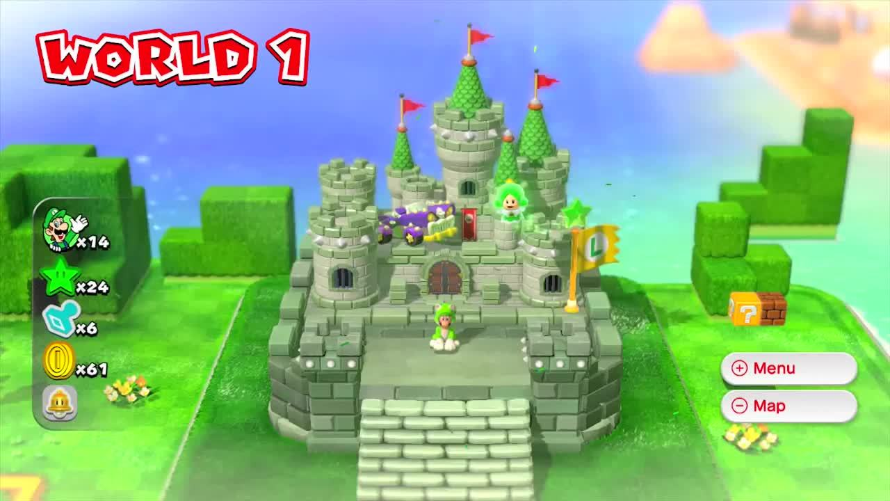 Super Mario 3d World Gameplay Gifs Search | Search & Share on Homdor