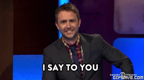 Watch and share Chris Hardwick GIFs and Dafuck GIFs by Reactions on Gfycat