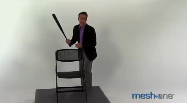 Watch and share Josh Was Ecstatic That He Could Clean His Teeth Using Violence And A Baseball Bat (reddit) GIFs on Gfycat