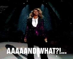 Beyonce Mic Drop GIFs