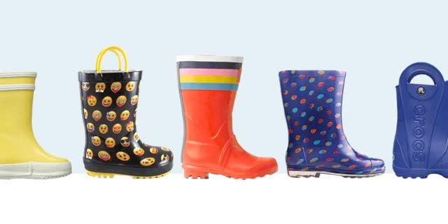 Watch and share Gallery Kids Rain Boots GIFs on Gfycat