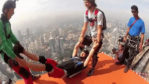 Happy Skydiving GIFs