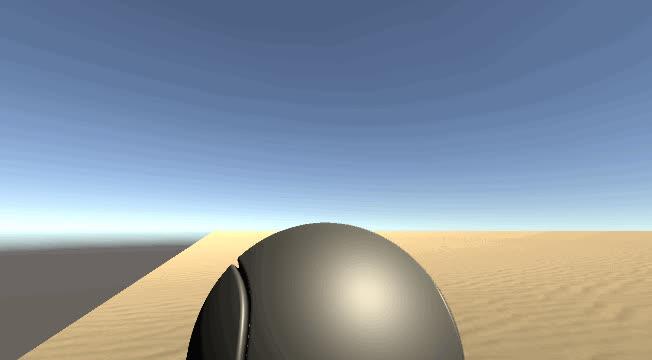 reddit, unity3d, terrain deformation in realtime unity3d GIFs