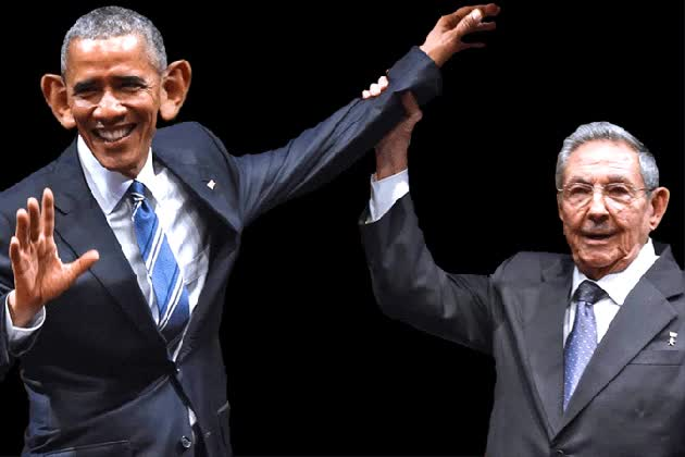 Watch and share Uncategorized Barack Obama, Cuba, Fanboy, Limp Wrist, Raul Castro GIFs on Gfycat