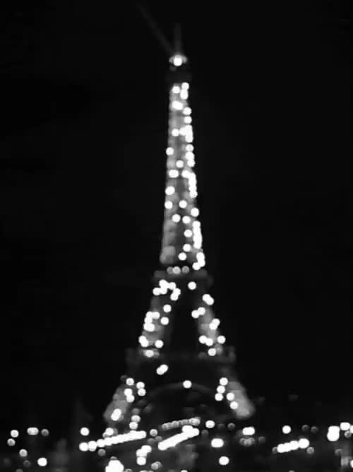 Watch and share Black And White Gif GIFs and Eiffel Tower Gif GIFs on Gfycat