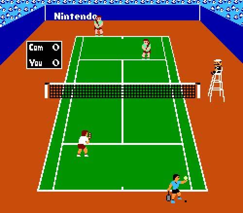 Watch Tennis, NES. GIF on Gfycat. Discover more animated, gif, nes, nintendo, pixel, tennis, vgjunk GIFs on Gfycat