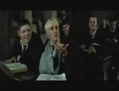 Watch and share Malfoy GIFs and Draco GIFs on Gfycat