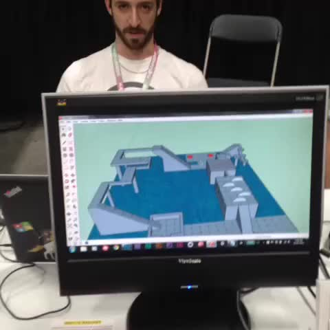Watch and share Live #gamedev At K-Days! #madjamunity GIFs by MADSOFT Games, inc. on Gfycat