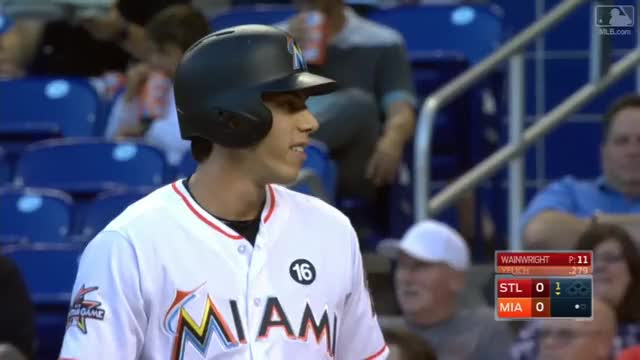 Watch and share Miami Marlins GIFs and Baseball GIFs by efitz11 on Gfycat