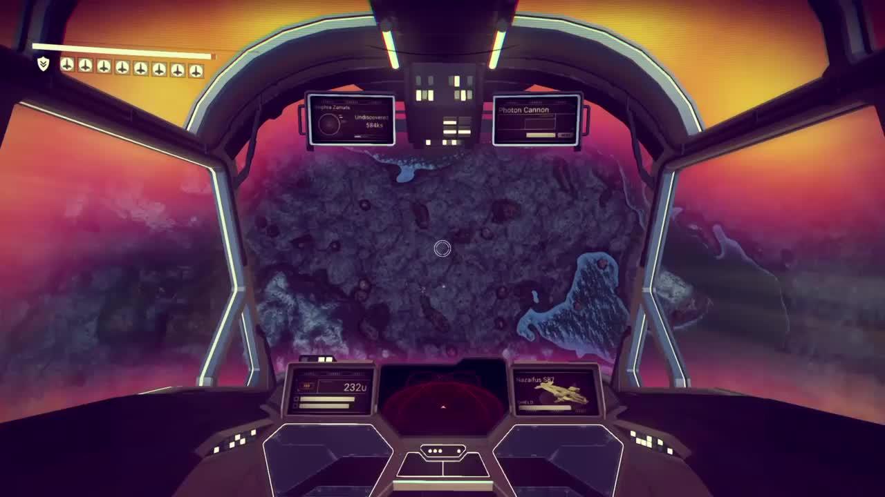 nomansskythegame, Upside down landing GIFs