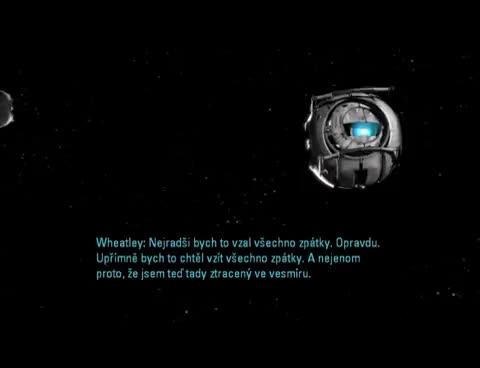 Watch Wheatley In Space GIF on Gfycat. Discover more Portal 2, Space, Wheatley GIFs on Gfycat
