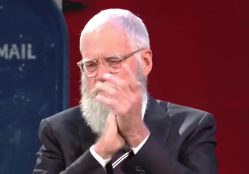 applause, bravo, clap, claus, david, good, hands, jimmy, job, kimmel, letterman, like, proud, santa, David Letterman GIFs