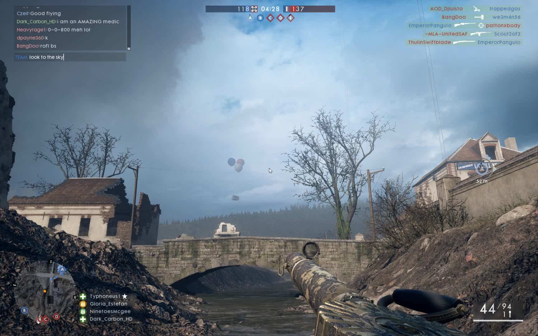 battlefield 1, easter egg, flying house, Up House Easter Egg in Battlefield one GIFs