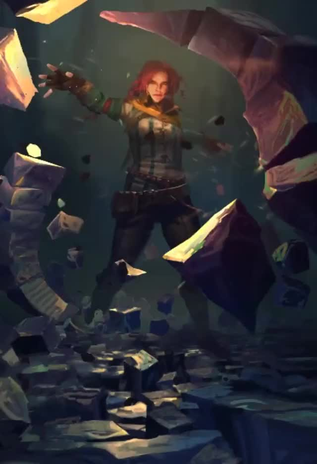 Watch Triss: Telekinesis GIF on Gfycat. Discover more related GIFs on Gfycat