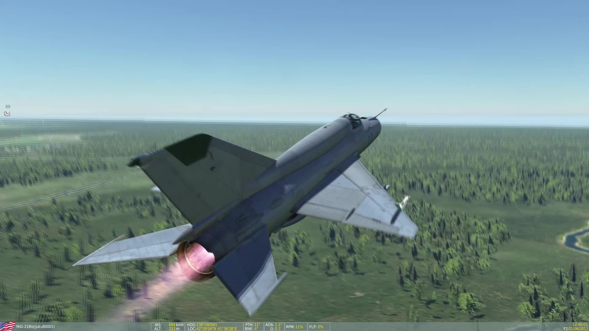 hoggit, BK90 MiG-21 Intercept and destroy GIFs