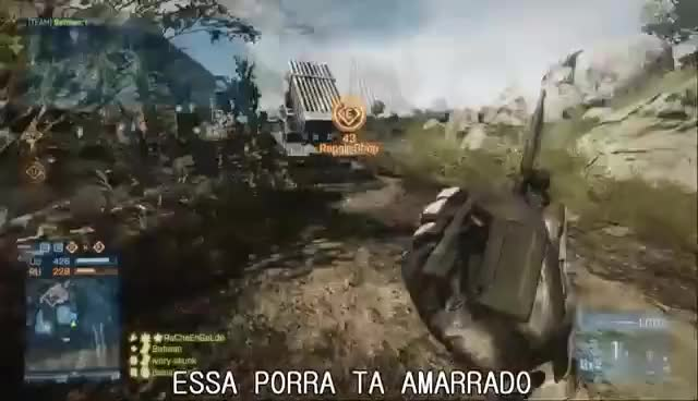 RAP DO BATTLEFIELD 3 ♫ - @delucagame