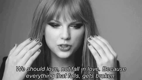 Watch and share Love, Quote And Taylor Swift GIF On We Heart It GIFs on Gfycat