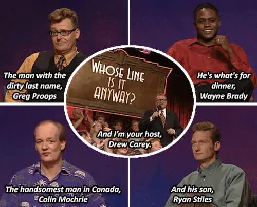 Watch and share Colin Mochrie GIFs and The Answer Is GIFs on Gfycat