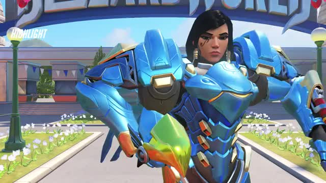 Watch Pharah GIF on Gfycat. Discover more highlight, overwatch GIFs on Gfycat