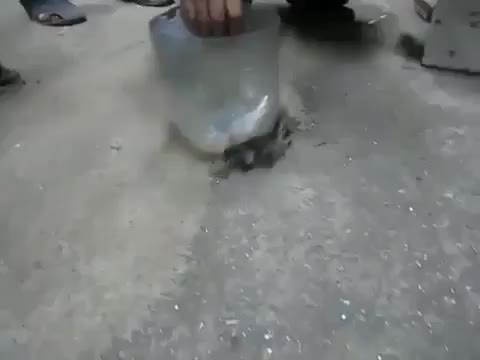 Cleaning a metal shop with a magnet GIFs