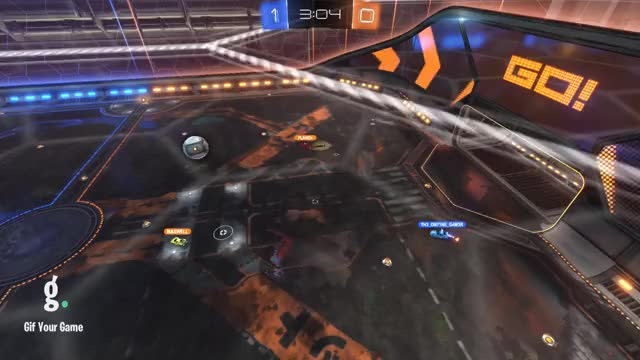 Watch Goal 2: Maxwell GIF by Gif Your Game (@gifyourgame) on Gfycat. Discover more Gif Your Game, GifYourGame, Goal, Rocket League, RocketLeague GIFs on Gfycat