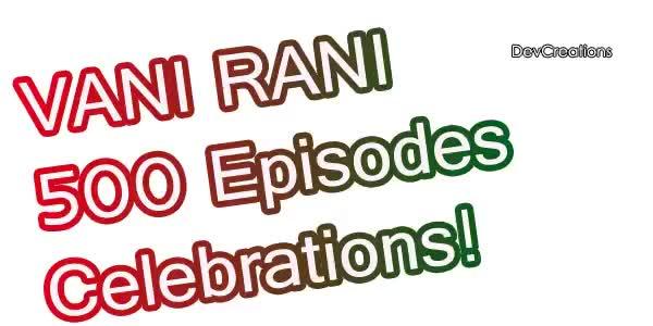 Watch and share ** Vani Rani 500th Episode Celebrations GIFs on Gfycat
