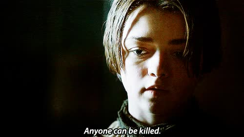 Watch and share Arya Stark GIFs on Gfycat