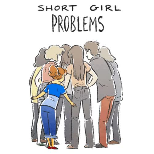 Watch and share Animator Sara Pocock Has A Series Of Illustrations And GIFs That Every Girl Can Relate To. GIFs on Gfycat