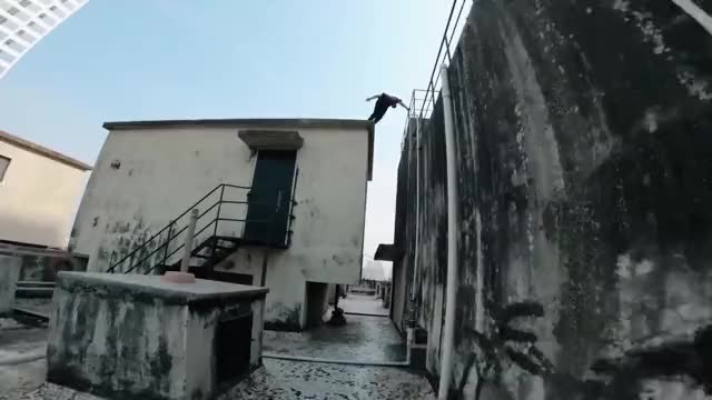 Watch Rooftop parkour GIF on Gfycat. Discover more POV, Parkour, STORROR GIFs on Gfycat