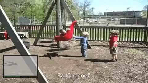 Get wrecked by swing : WastedGifs GIFs