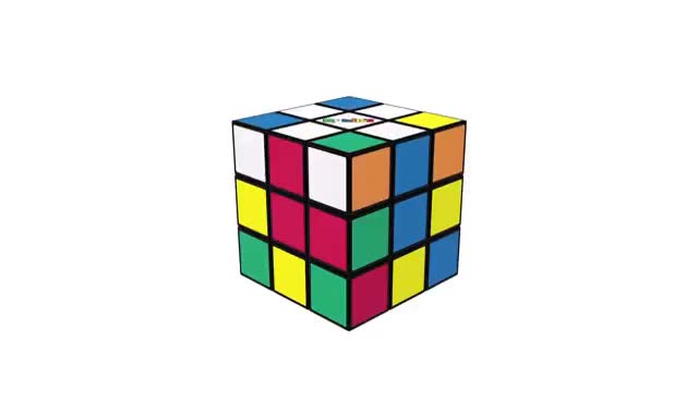 How To Solve A Rubik's Cube | OFFICIAL TUTORIAL PART 3 GIFs