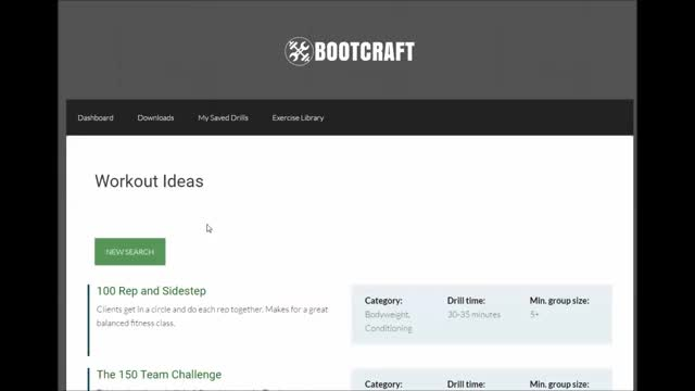 Watch and share Select A Workout BootCraft GIFs by bootcampideas on Gfycat