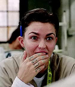 Watch and share Orange Is The New Black GIFs and Ruby Rose GIFs on Gfycat