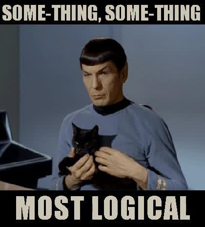Watch spock logic GIF on Gfycat. Discover more Leonard Nimoy GIFs on Gfycat