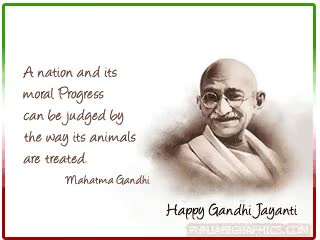 Watch and share Happy Gandhi Jayanti Commets animated stickers on Gfycat