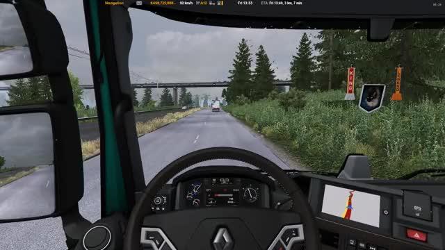 Watch and share Euro Truck Simulator 2  - JD6v7 ReShade - GU Map GIFs by Johndoe SiCKX on Gfycat