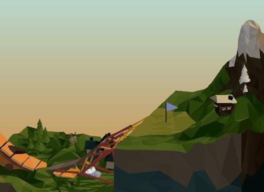 polybridge, steam, The Cliff (Polybridge) GIFs