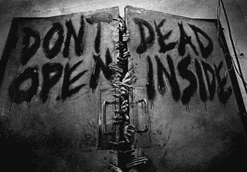 Watch and share Walking Dead Dont Open Dead Inside GIFs on Gfycat