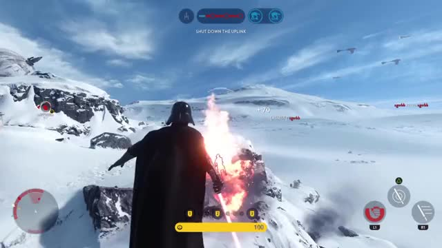 Watch Papa Vader GIF by @iamsnoke on Gfycat. Discover more ps4share, sony interactive entertainment, starwarsbattlefront GIFs on Gfycat