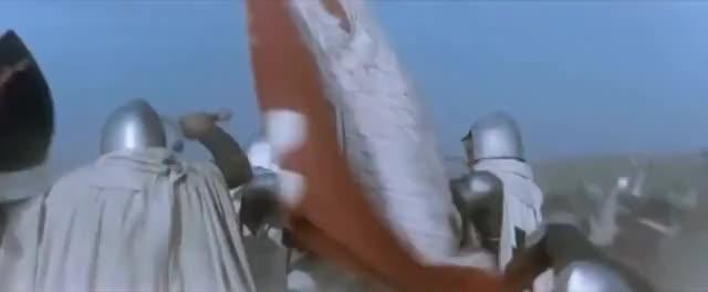 Watch and share Krzyzacy (Poland, 1960) - Battle Of Grunwald/탄넨베르크 전투: 1410 GIFs on Gfycat