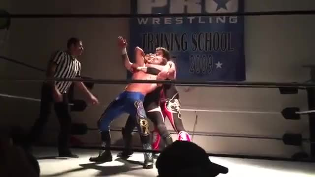 Watch Triple Threat GIF by metaknightxprophets on Gfycat. Discover more Jesus Rodriguez, Ricardo Rodriguez, Ricky Mandel, So Cal Crazy, SoCal Pro Wrestling GIFs on Gfycat