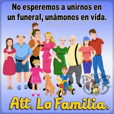 UNIÓN FAMILIAR GIFs
