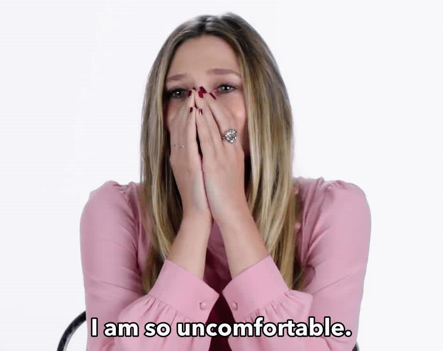 Elizabeth Olsen, awkward, uncomfortable, Elizabeth Olsen Uncomfortable GIFs