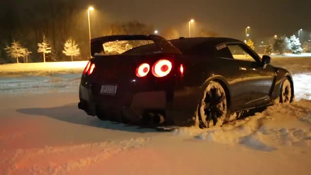 Watch and share GTR Snow Launch Control Flamethrower! GIFs by Tuğçe Kızıltaş on Gfycat