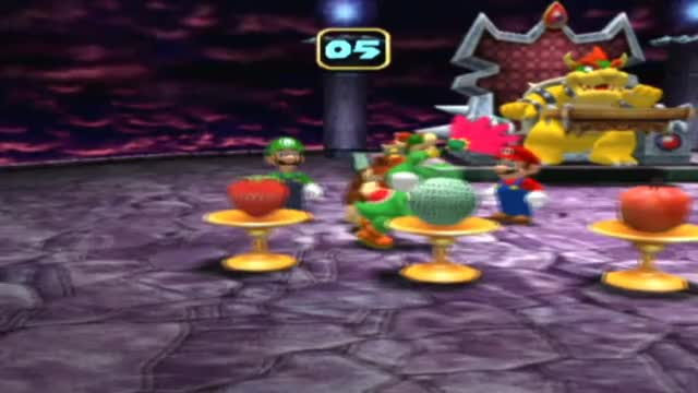 Mario Party 4 Bowser Mini Games - Fruits of Doom GIF | Find, Make