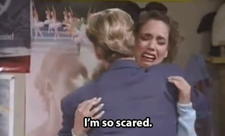 fear, panic, scared, scared GIFs