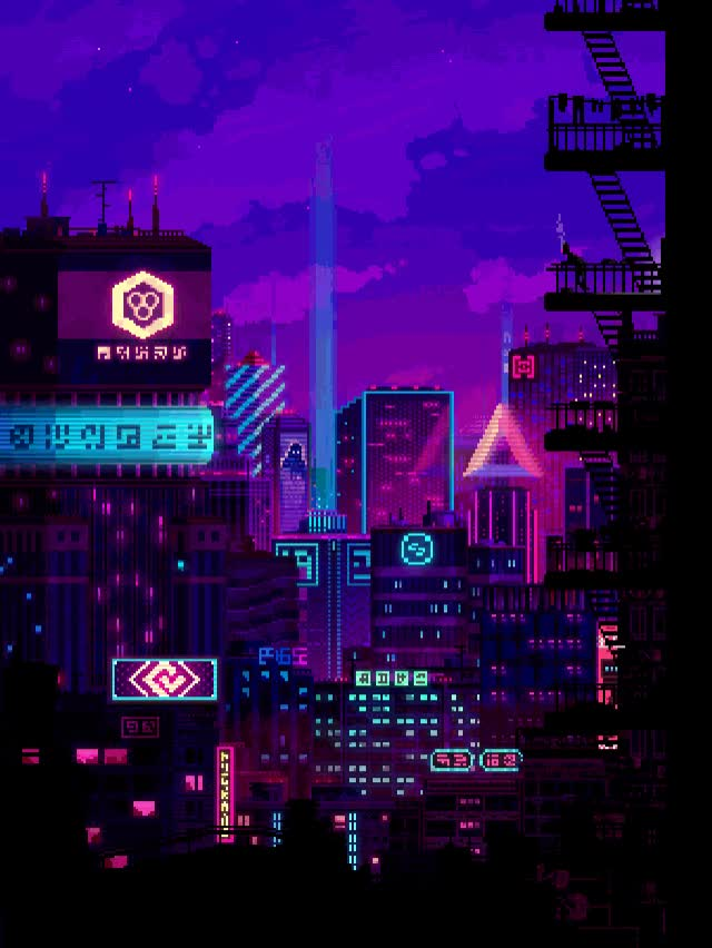 Watch and share Futuristic GIFs and Pixel Art GIFs by iSaith on Gfycat