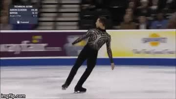 Watch and share Adam Rippon Triple Axel Video GIFs on Gfycat